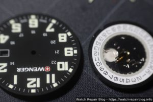 Wenger Field Classic - Dial and Movement Round 515