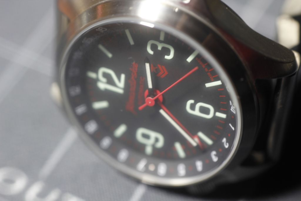 Vostok k-34: cleaning dirty glass on the inside 1