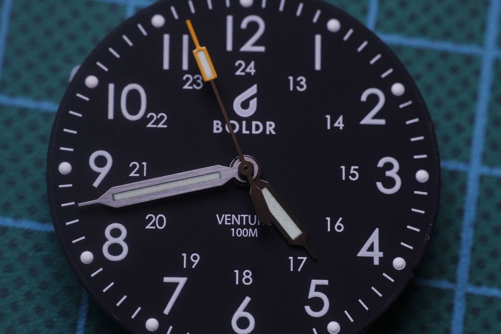Boldr Venture: second hand does not match the hourly rates 1